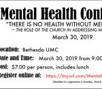 Mental Health Conference Information and Registration