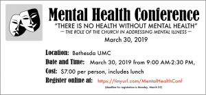 Mental Health Conference Information and Registration